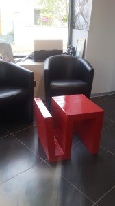 Table basse/porte revues